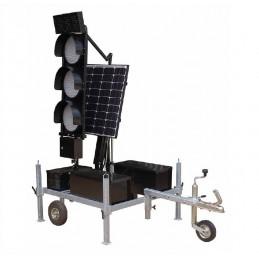 Stacja zasilana solarnie +...